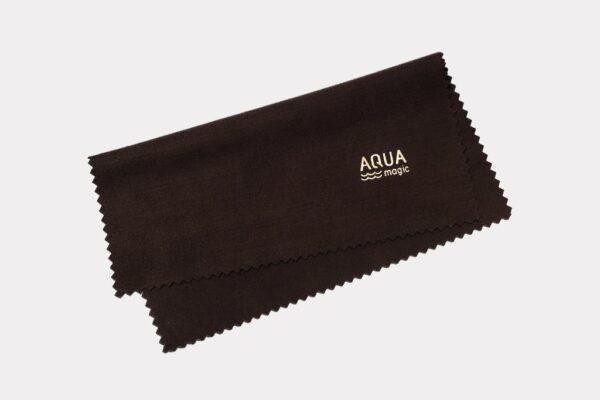 Салфетка для очков Aquamagic Optics (венге).