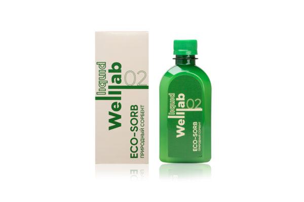 Сорбент Welllab liquid eco-sorb