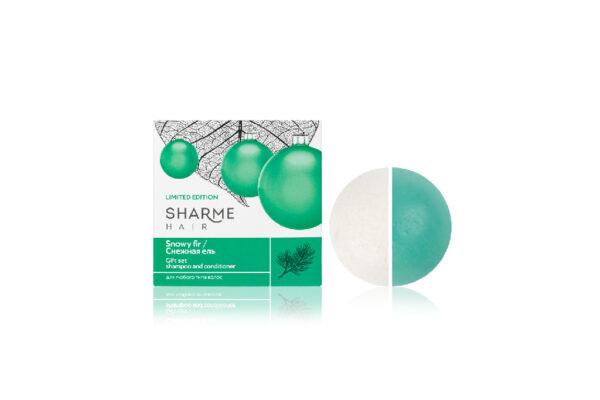 Твердые шампунь и кондиционер Sharme Hair.