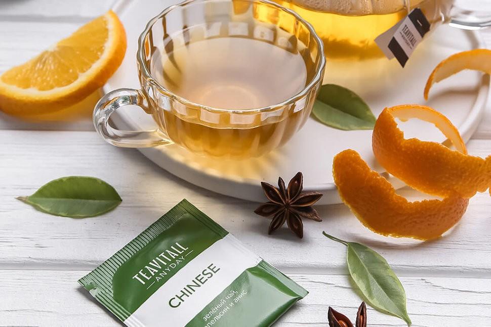 TeaVitall многообразие чайных напитков