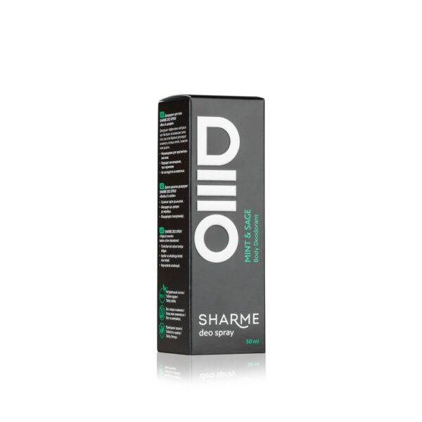 SHARME DEO SPRAY Body Deodorant Mint & Sage/ Дезодорант «Мята & шалфей»