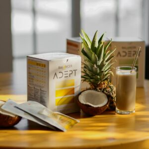 BALANCER ADEPT протеиновые коктейли на кокосовом молоке