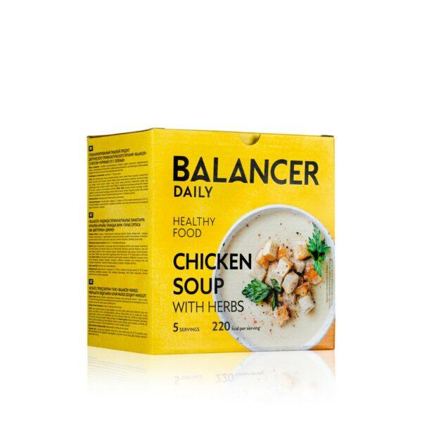 Коктейль BALANCER со вкусом Куриный суп с зеленью 5 шт 2