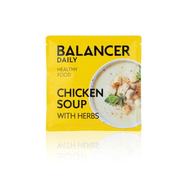 Коктейль BALANCER со вкусом Куриный суп с зеленью 5 шт 3