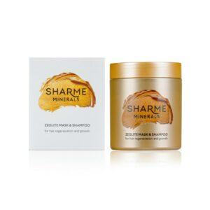 Цеолитовая маска-шампунь для восстановления и роста волос 1