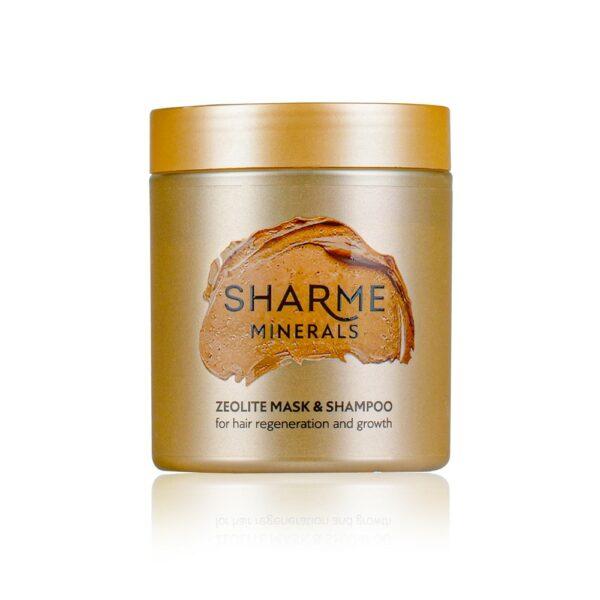 Цеолитовая маска-шампунь для восстановления и роста волос 2