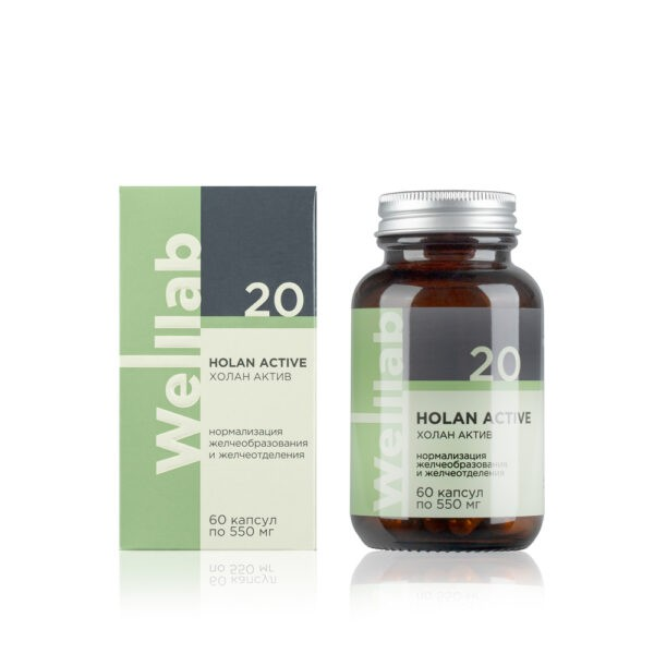 Welllab HOLAN ACTIVE, 60 капсул 1