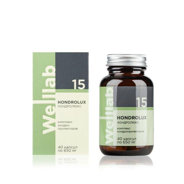 Welllab HONDROLUX, 40 капсул 1