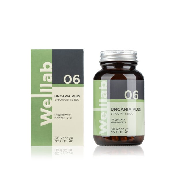 Welllab UNCARIA PLUS, 60 капсул 1