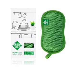 Губка для мытья посуды HOME S15, washing sponge