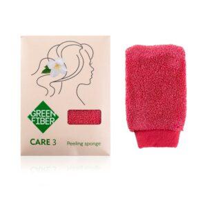 Спонж для пилинга LASKA CARE 3, peeling sponge