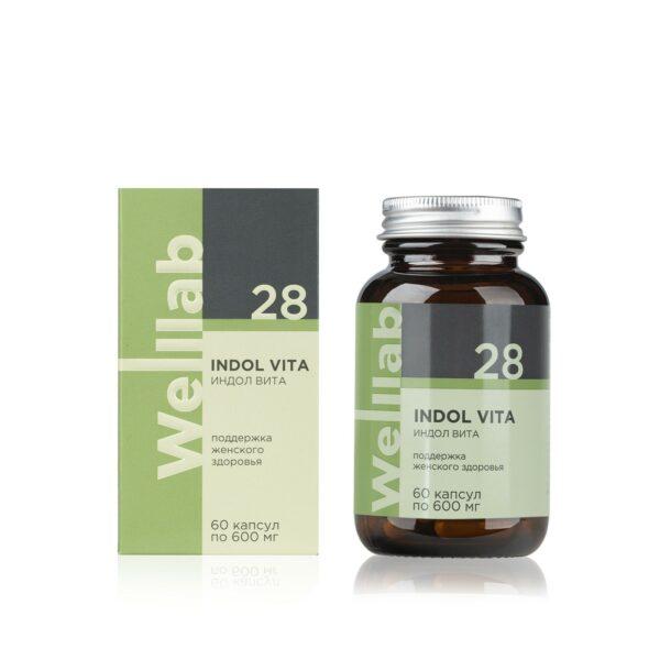 Welllab Indol Vita, 60 капсул 1