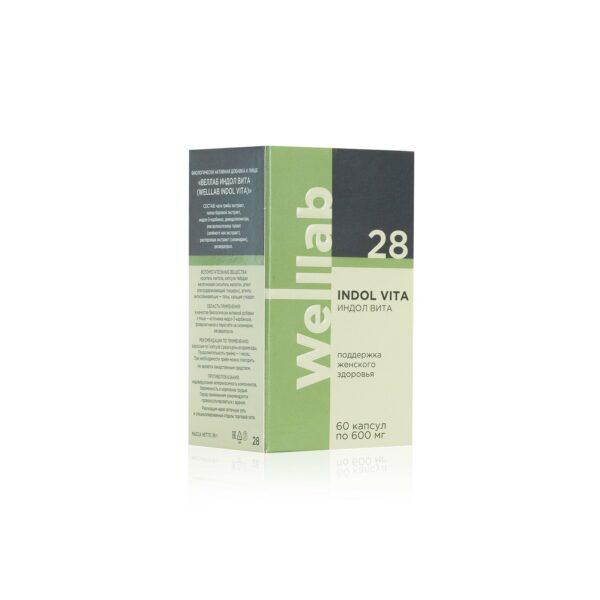 Welllab Indol Vita, 60 капсул 3