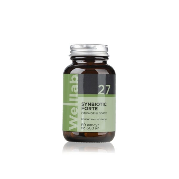 Welllab Synbiotic Forte, 60 капсул 2